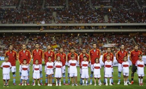 Amistoso España vs. China en Sevilla preparatorio para la EURO 2012.