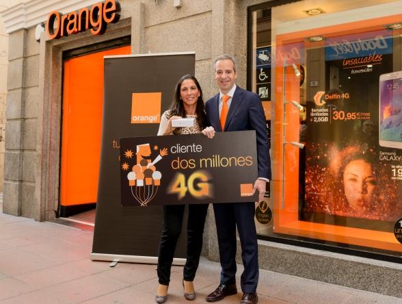 Cliente dos millones servicio 4G