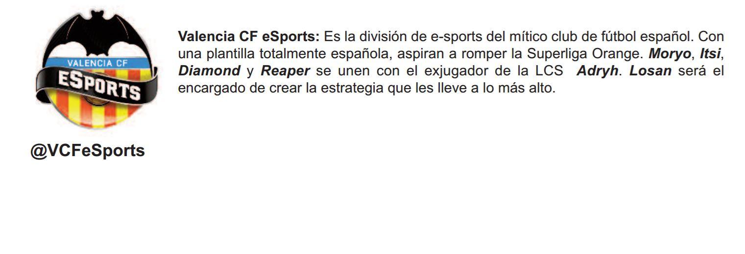 Valencia Esports El Blog De Orange