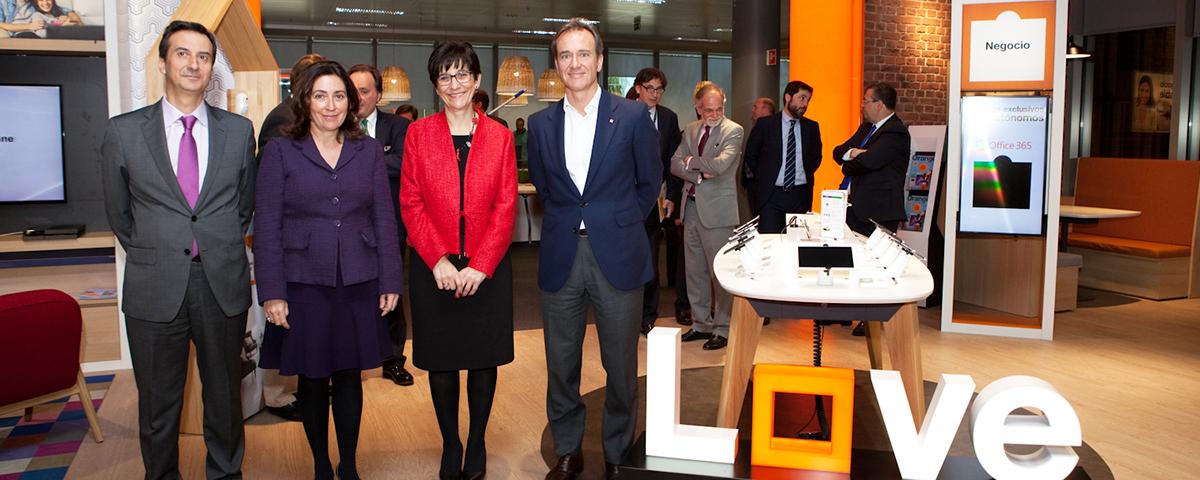Orange inaugura su nueva oficina flexible en madrid for Oficinas de la comunidad de madrid