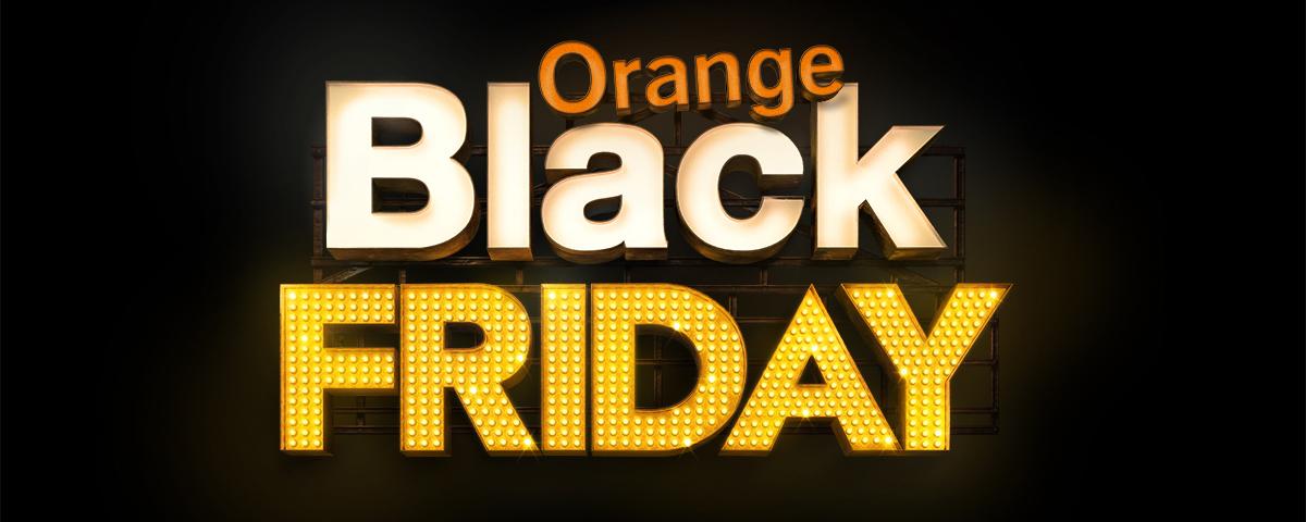 el black friday llega a orange. Black Bedroom Furniture Sets. Home Design Ideas