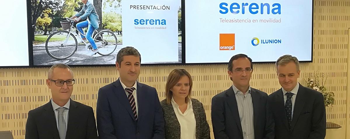 Orange e Ilunion lanzan 'Serena', la teleasistencia en movilidad