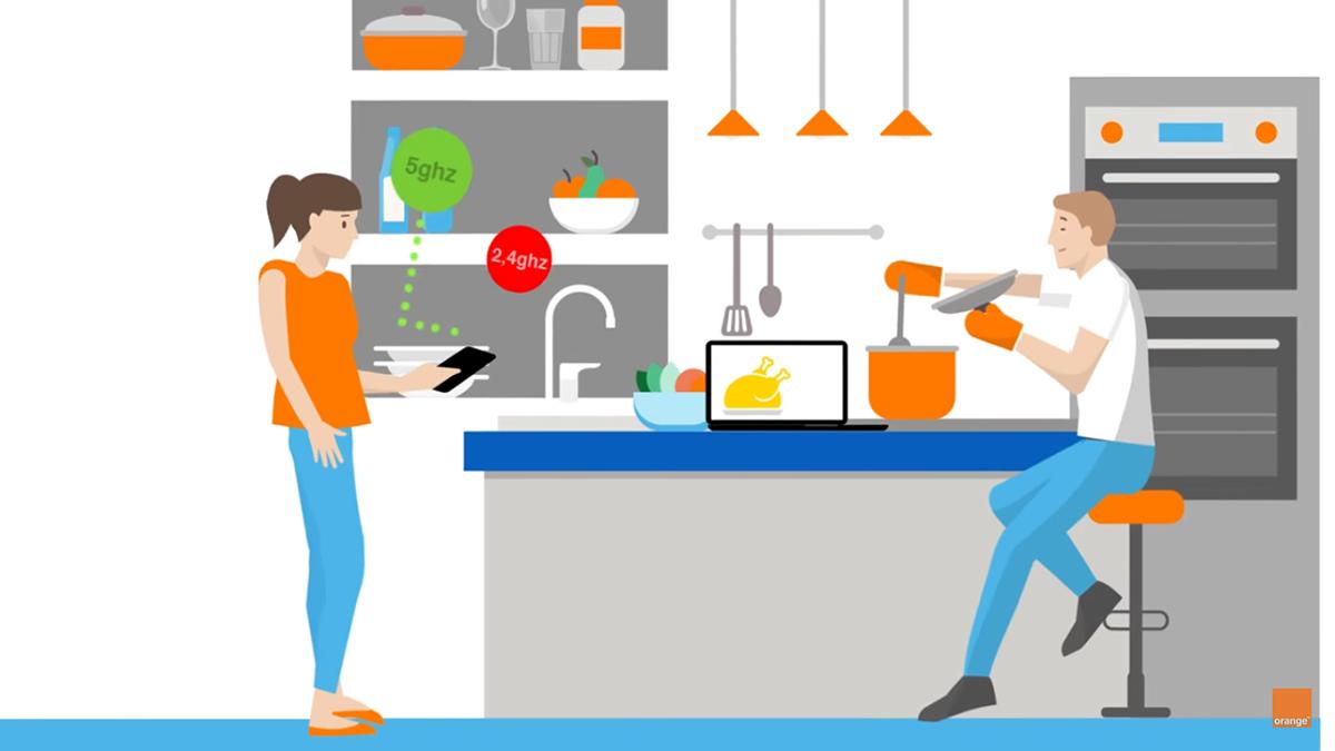 wi-fi inteligente de orange
