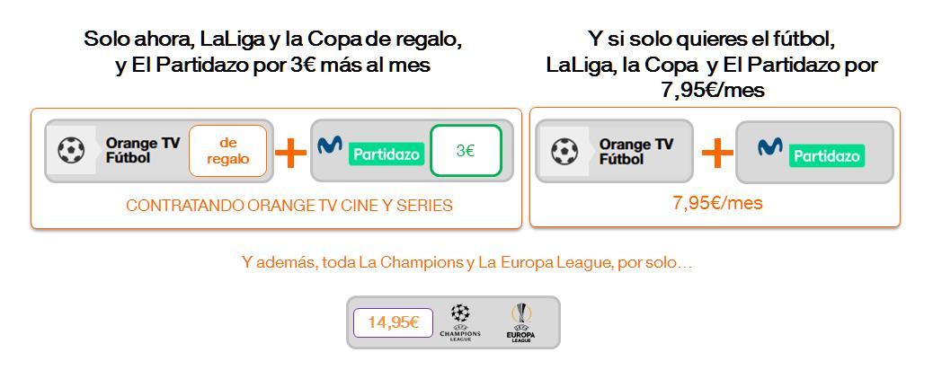 La oferta de fútbol de Orange