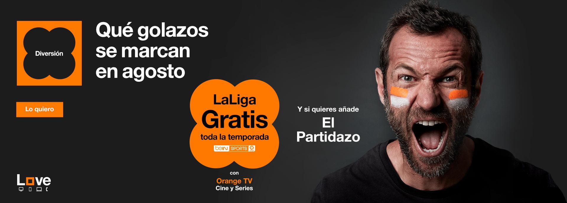 orange tv, todo el fútbol