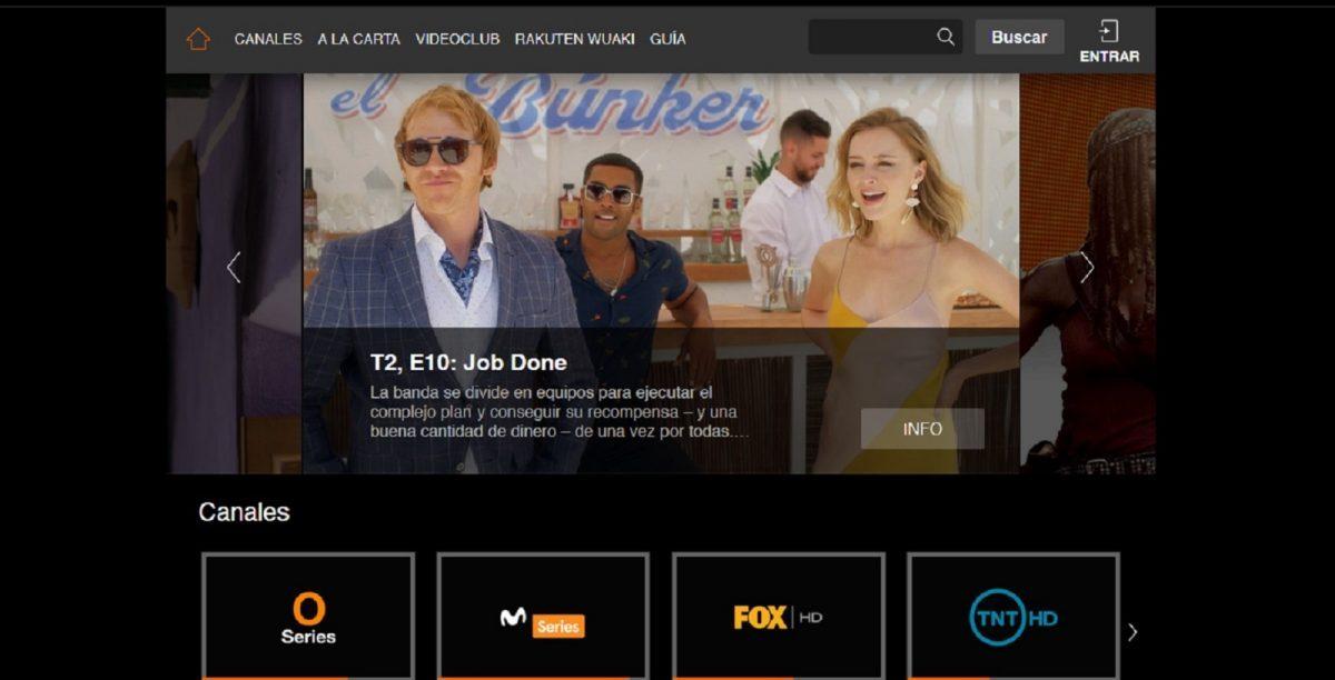 El orden de canales de Orange TV es temático