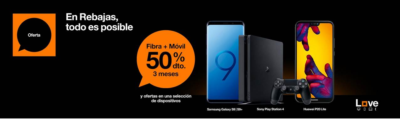rebajas de orange ofertas