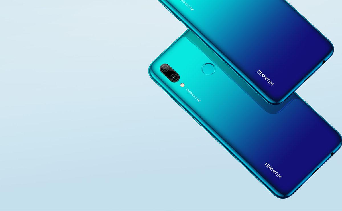 Huawei P Smart 2019 con Orange trasera y cámara