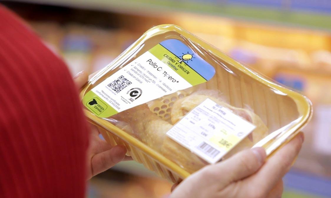 tecnología y seguridad alimentaria blockchain en el pollo