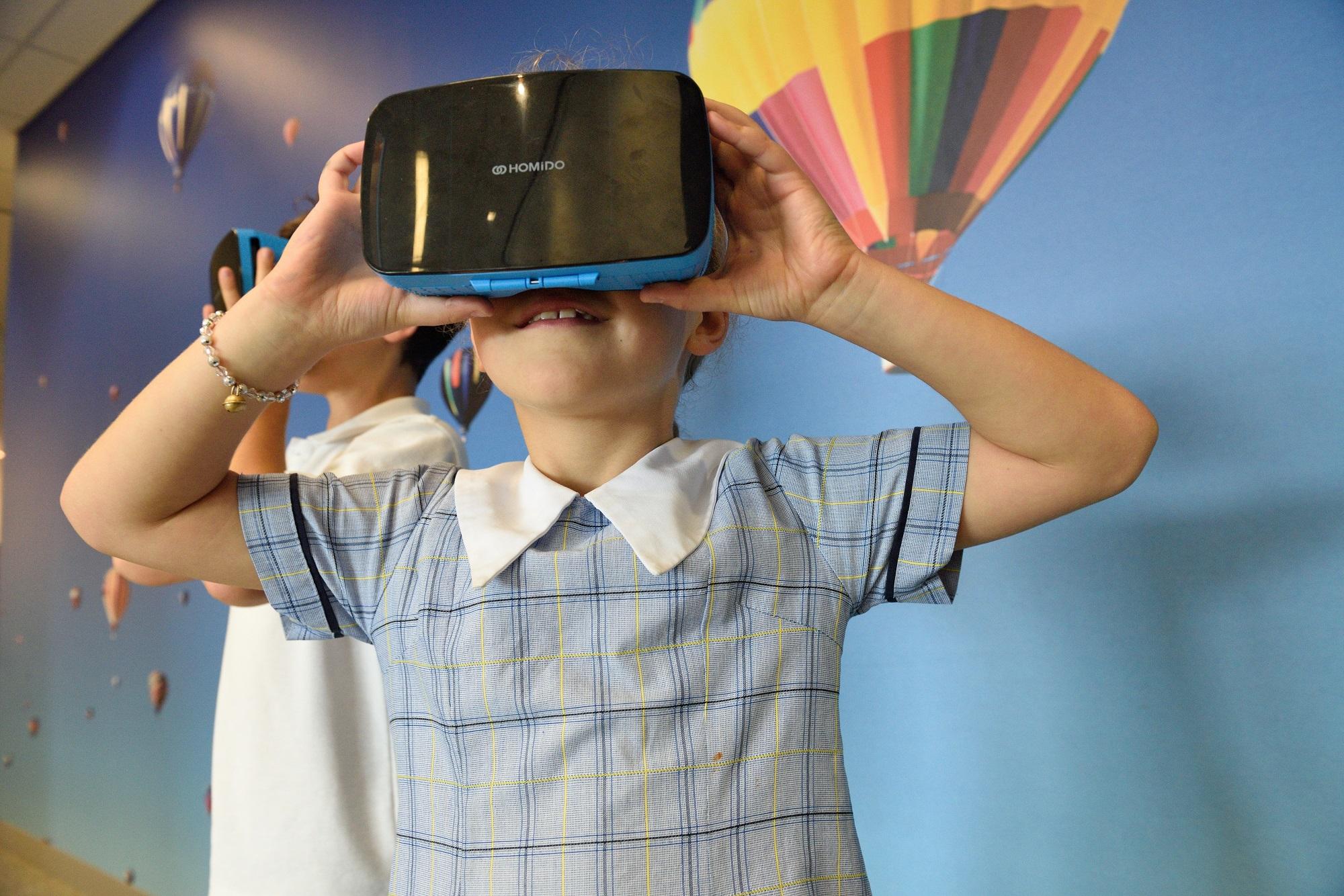 Gafas de realidad virtual para experiencias inmersivas