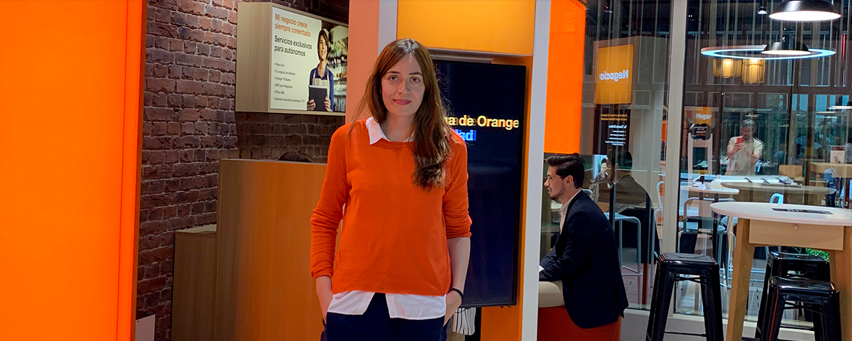 judit cubo orange transformación digital impulsada por el software los datos