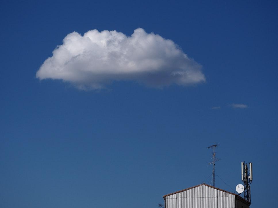 antena internet nube