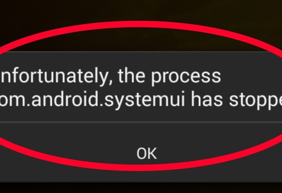 Cómo solucionar el error com android systemui