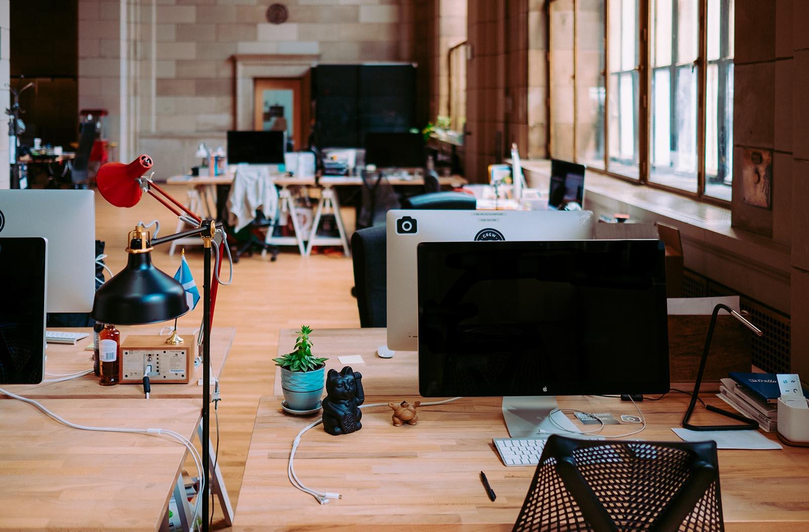 conectividad en la oficina