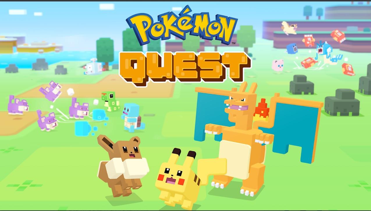 Pokemon Quest,, uno de los juegos gratis y sin WiFi para smartphone