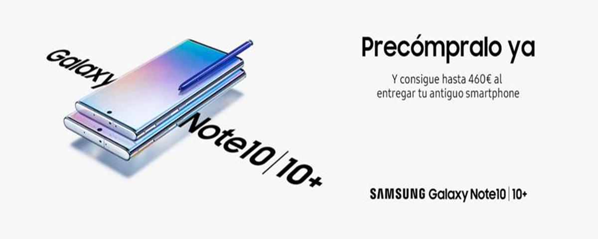 Portada Samsung Note10