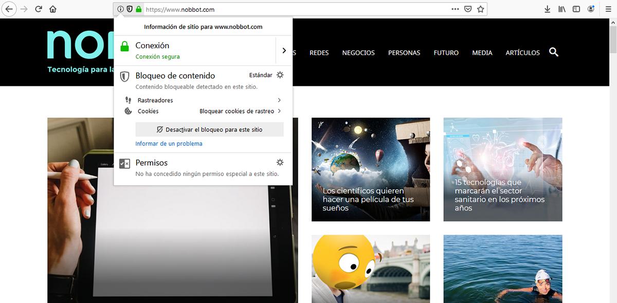 Nobbot es una pagina web(www) segura