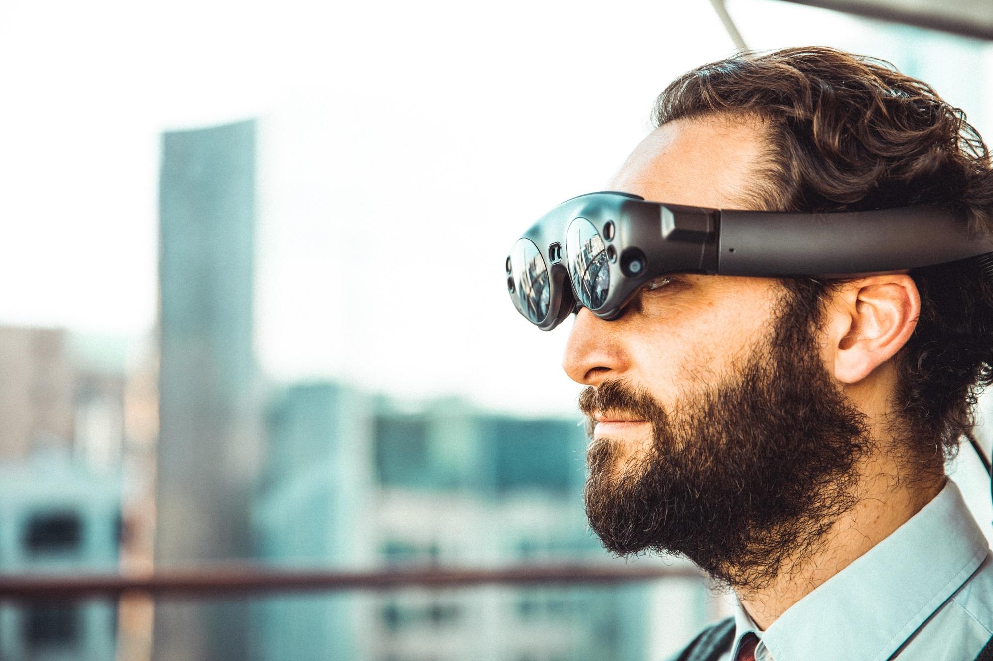 Unas gafas para poder visualizar realidad aumentada