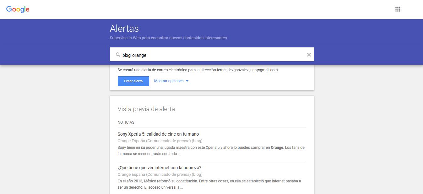 configurar las notificaciones de google