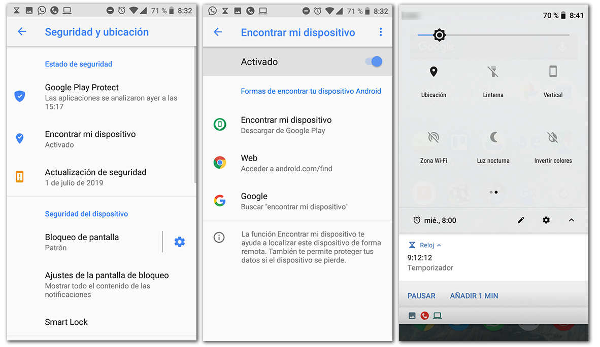 como localizar tu dispositivo android