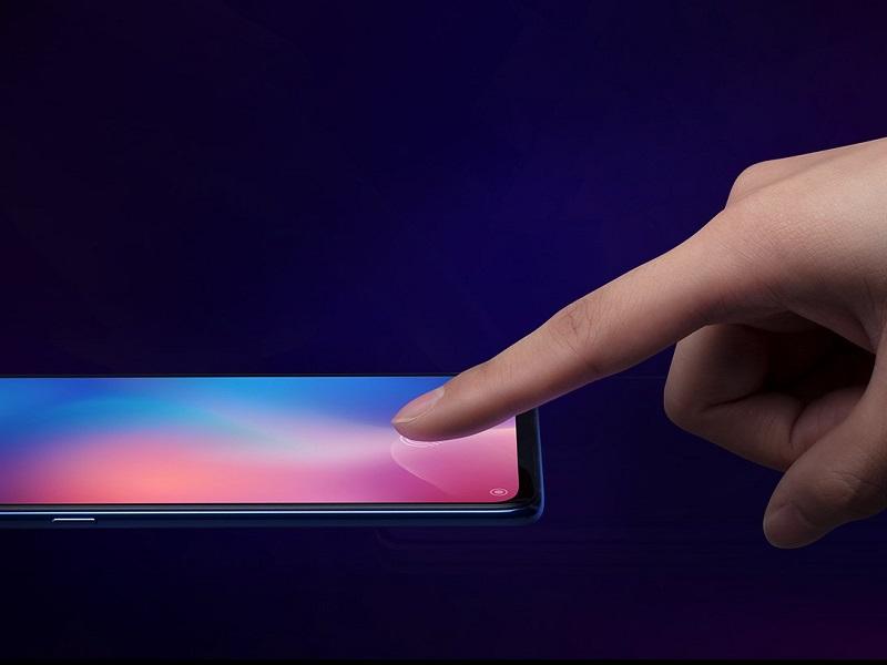 xiaomi mi 9 fingerprint