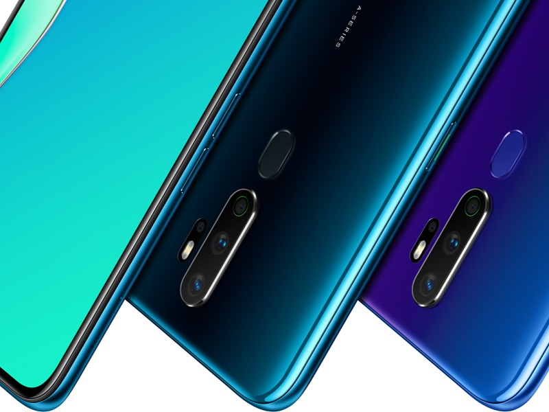 Oppo A9 colores