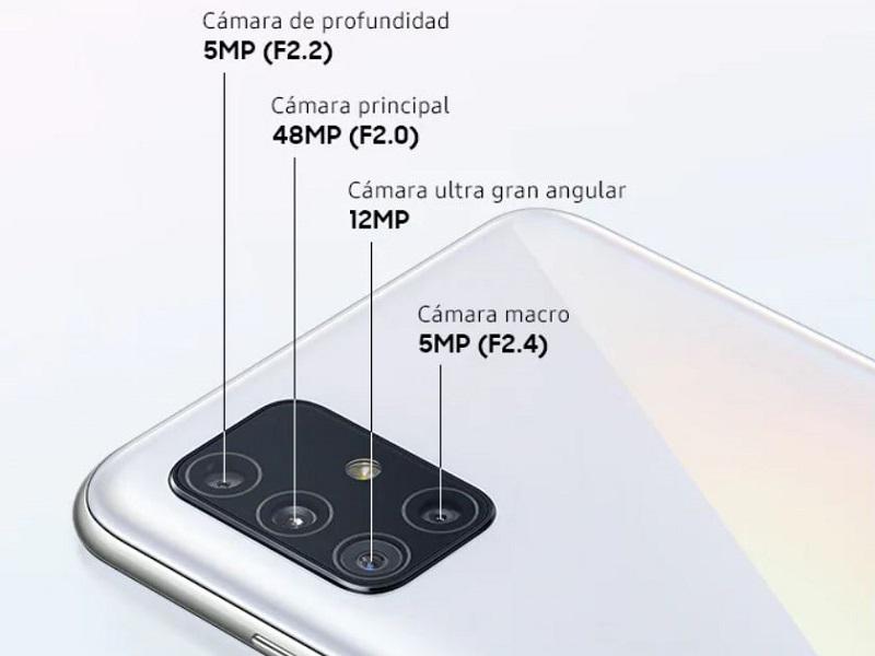 Samsung Galaxy A51 camara