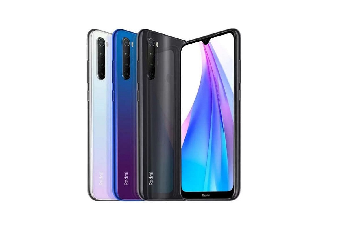 Xiaomi Redmi Note 8T colores
