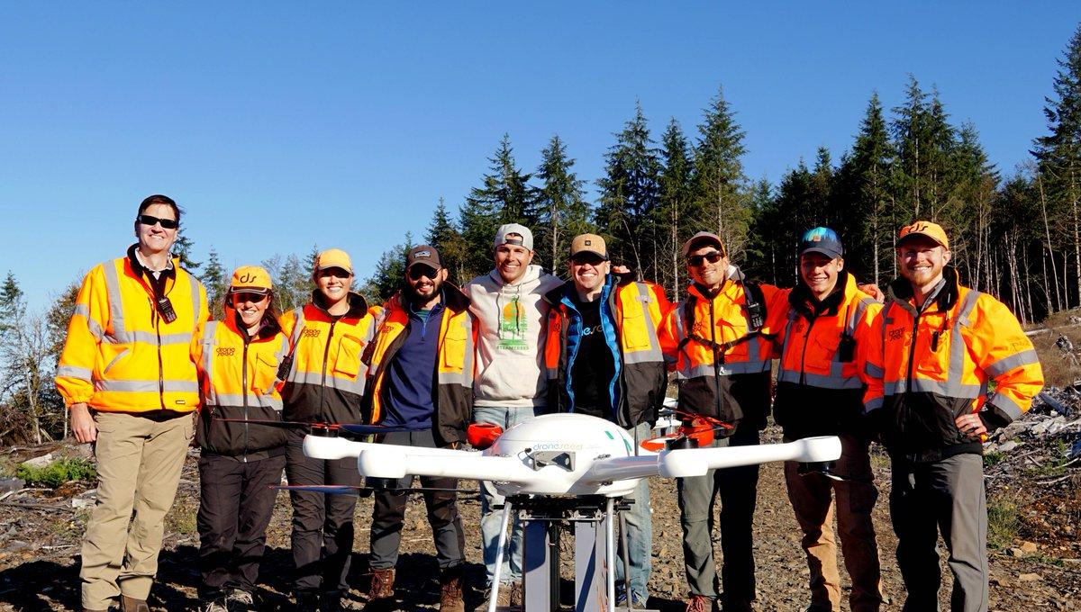 tecnología de droneseed para la reforestación