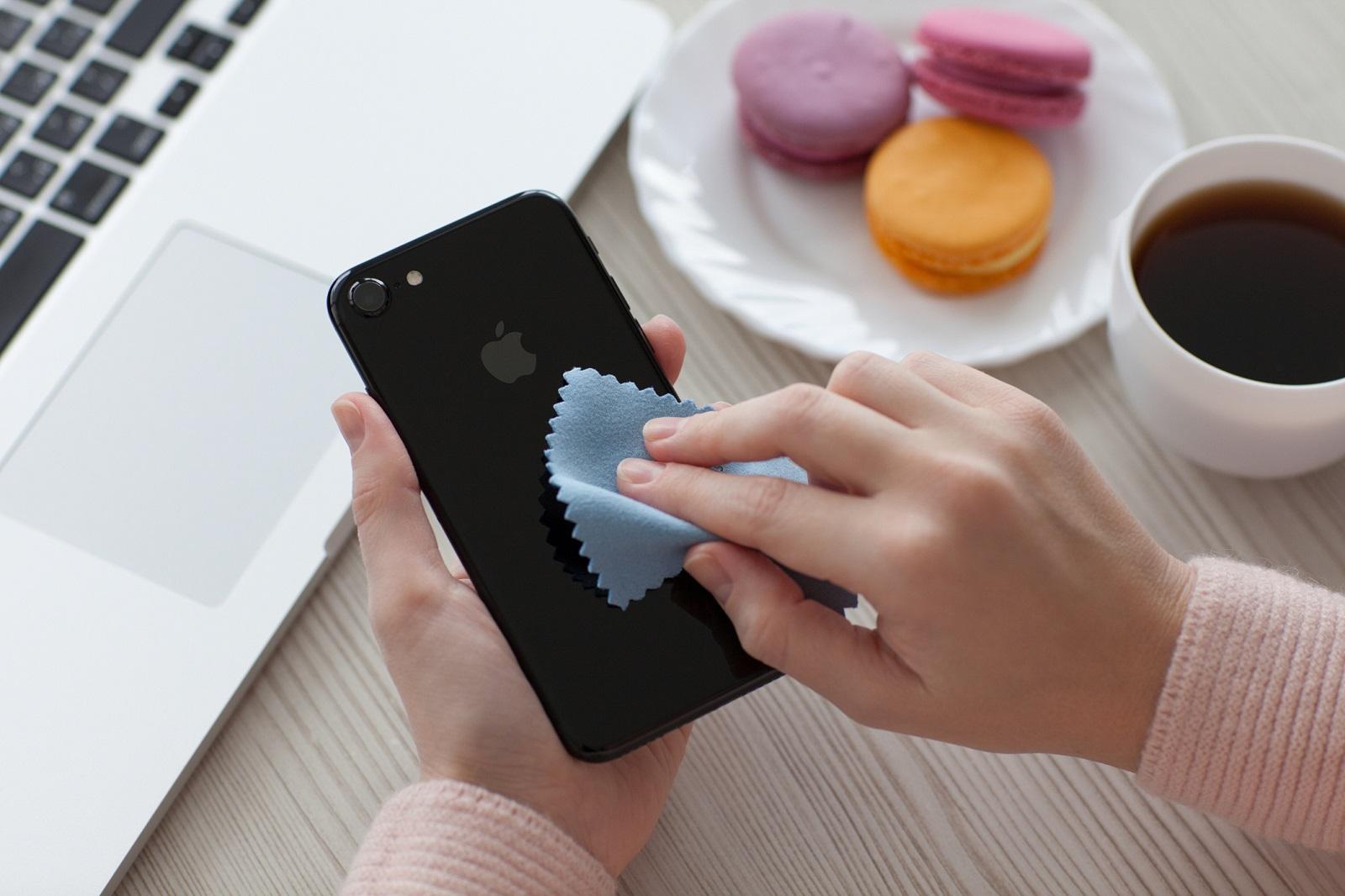 Cómo limpiar tu smartphone