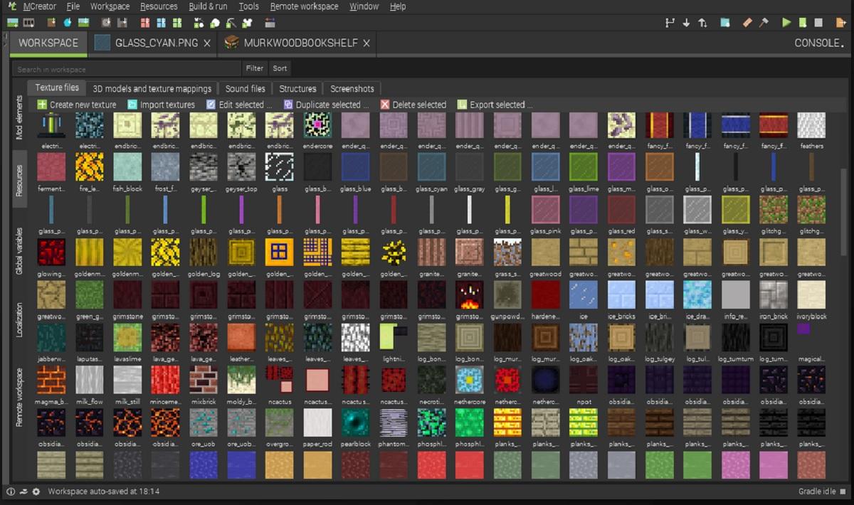 MCreator, un programa para crear mods en Minecraft