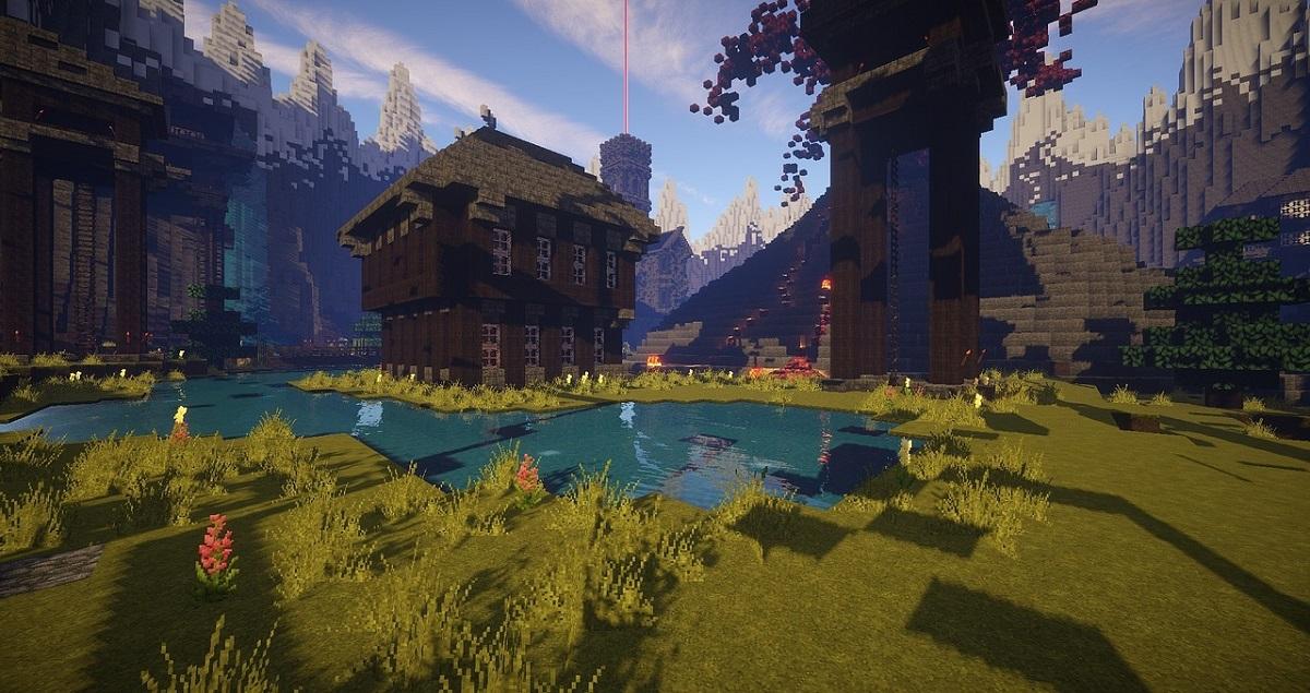 En Minecraft se pueden construir todo tipo de mundos