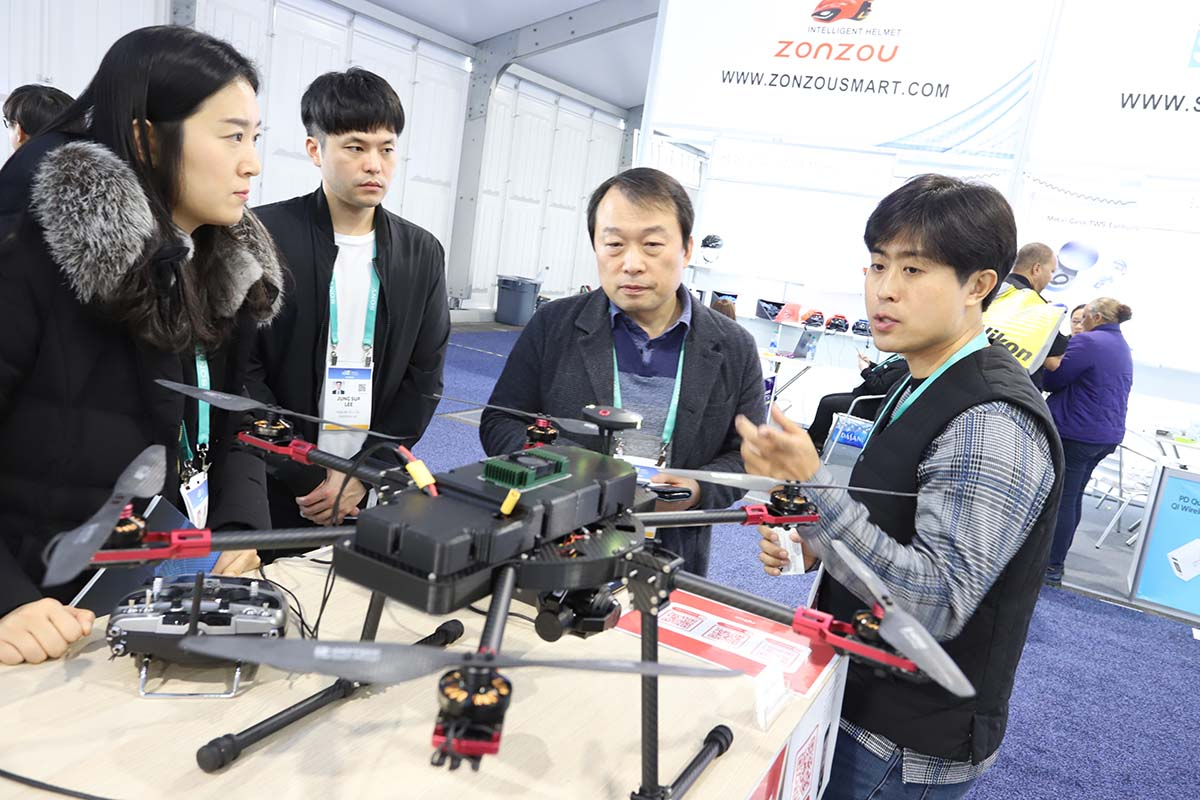 drones y el transporte autónomo