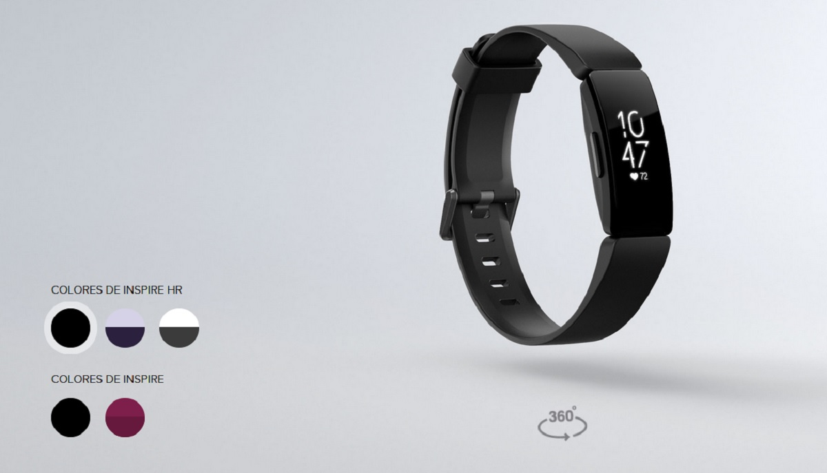 Fitbit Inspire HR, una de las mejores smartbands de Orange