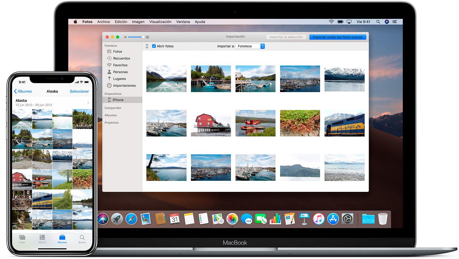 pasar imagenes de iPhone® a computador sin iTunes