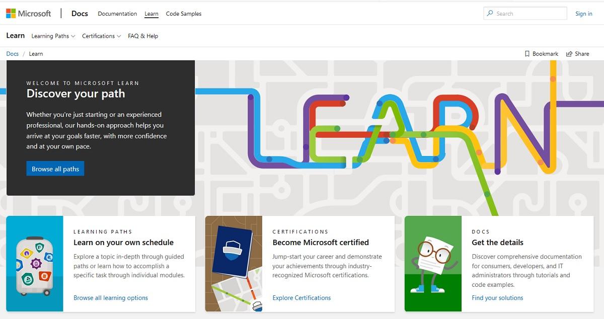 Aprender programación con Microsoft