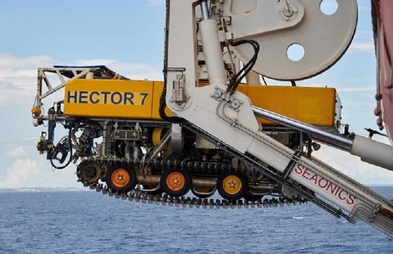 Hector 7, el robot que rescata los cables submarinos