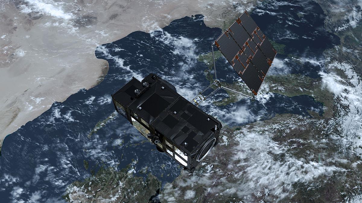 satélite Sentinel 3 de Copernicus