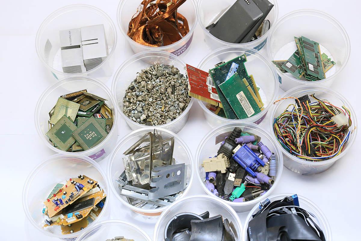 reciclaje de tecnología de residuos electrónicos