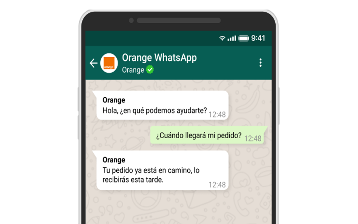 Orange-Whatsapp